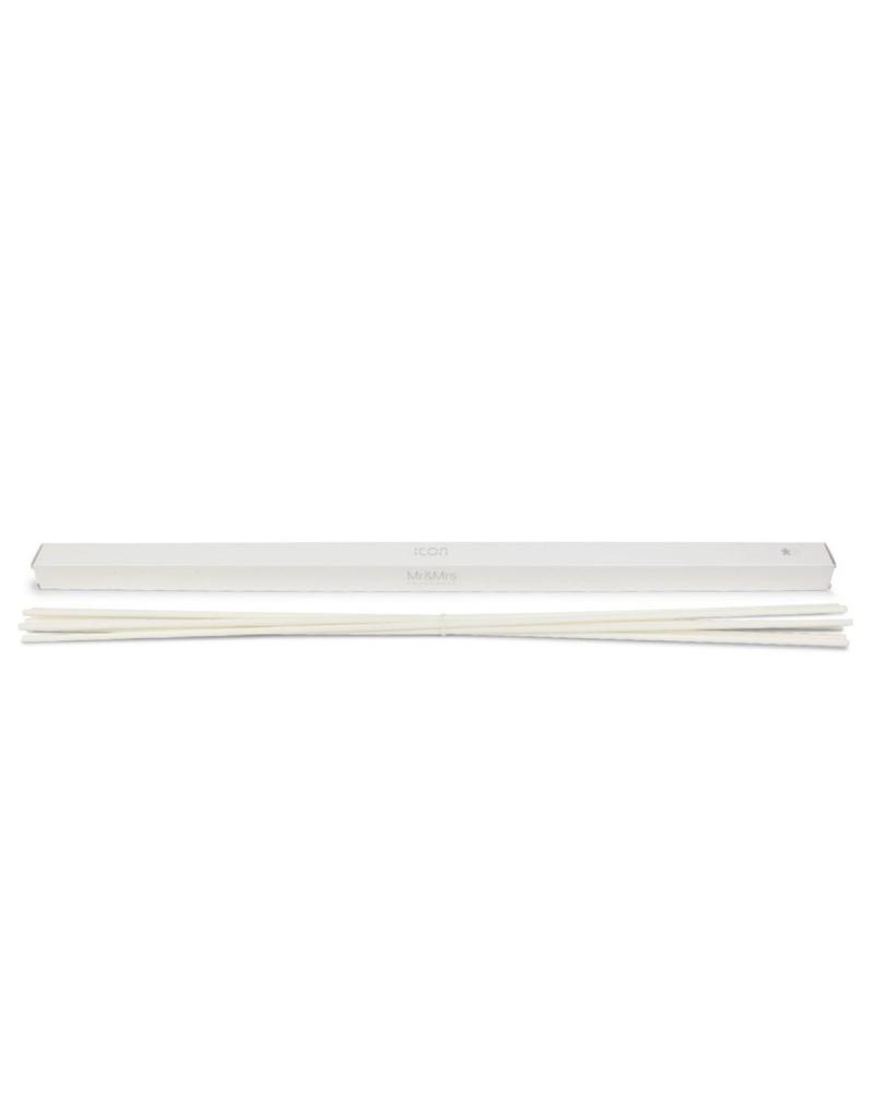 Палочки для аромадиффузора ICON (белые) 46 см (7 шт)