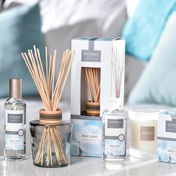 «Пион и Малина» и «Белый хлопок» - новые коллекции ароматов для дома от Esteban